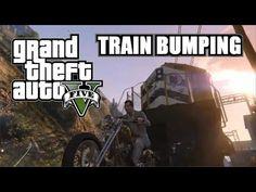 Grand Theft Auto V - Train Bumping #gtav #twitch #rockstar #youtube #grandtheftauto