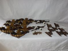 Brass Drawer Pulls Handles Hinges Ceramic Knobs by MemmoryAlley, $79.00