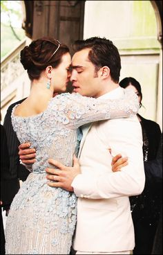 Blair and Chuck, great ending to a fantastic series. Oh how I miss gossip girl!!