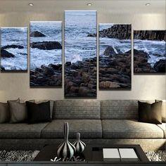 Antrim - Giants Causeway Canvas Print Wall Art 3d Wallpaper Home, Wall Art Prints, Canvas Prints, Thing 1, 1 Piece, 10 Days, Irish, Size 2, Pictures