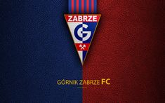 Download wallpapers Gornik Zabrze FC, 4k, football, emblem, Gornik logo, Polish football club, leather texture, Ekstraklasa, Zabrze, Poland, Polish Football Championships