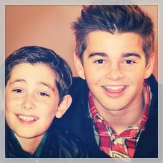 Jack Griffo and Diego from the Thundermans