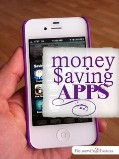 Money-Saving Apps- I think I must try these