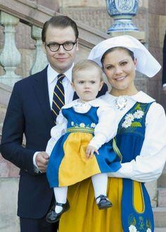 Princess Victoria, June 6, 2013 | The Royal Hats Blog Traditional dress
