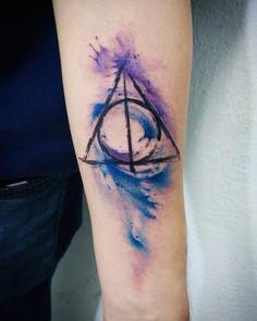 Harry Potter - Deathly Hallows Tattoo