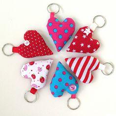 Lavender heart keyrings | Flickr - Photo Sharing!