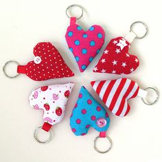Lavender heart keyrings | Flickr - Photo Sharing!