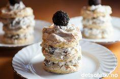 Dessertkake med Oreo og marengs | Det søte liv