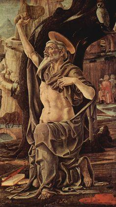 Cosmè Tura - San Girolamo penitente - 1474 - Londra, National Gallery