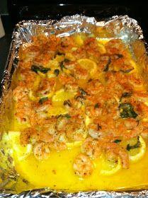 Living every moment...: Yummy Lemon Butter Shrimp