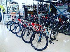 Exhibición de Tienda Rutadeporte.cl  Bicicletas Trek Chile.