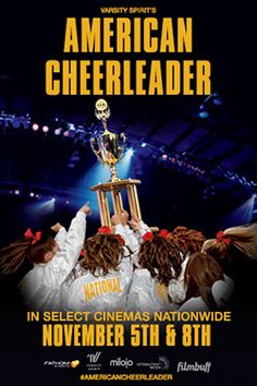 Varsity Spirit's American Cheerleader is now playing at select Regal Cinemas. Get tickets & showtimes: http://regmovi.es/1iDqX9Q
