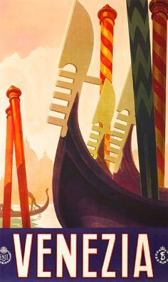 Italian Poster - Venezia