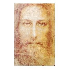 Antique Pictures of Jesus Christ | vintage papyrus portrait of Jesus Christ healing Customized Stationery