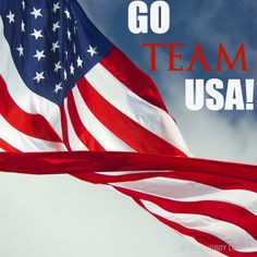 Go Team USA! We are so excited for the Winter Olympics this year.