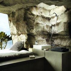 Une grotte tout confort