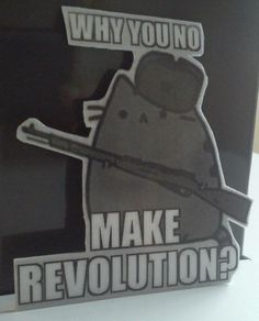 Revolutionary Pusheen
