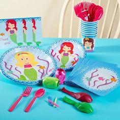 Target-Mermaids Birthday Party Pack