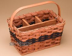 Handmade Amish Basket - Table Organizer - Mission Del Rey Southwest
