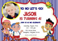 Jake and the Neverland Pirates Birthday Party by PrettyPaperPixels