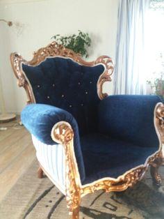 Omklädd stol