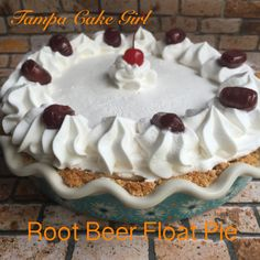 I grew up drinking root beer floats in a frosty mug. It was a cool refreshing drink and a dessert rolled into one. This is the perfect dessert for Warner weather and I promise you that you will rem…