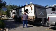 JEREMY's new 2016 Highland Ridge Mesa Ridge 310BHS! Congratulations and best wishes from Clear Creek RV Center and Chris Stan.