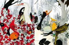 """""""La voliera d'oro"""" di Anna Castagnoli e Carll Cneut"""