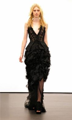 Black Wedding Gowns / Wedding Style Inspiration / LANE