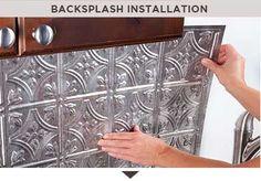 Backsplash Installation Information