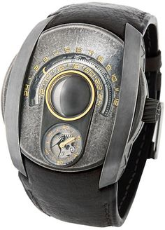 "Konstantin Chaykin ""Lunokhod"" striking Russian 3d Moonphase watch"