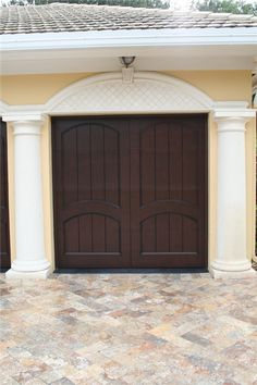 020 Eden Coast Custom Design/Custom Color-Mahogany Match w/Molding Florida Home, Photo Galleries, Custom Design, Garage Doors, Coast, Door Ideas, Gallery, Outdoor Decor, Eye