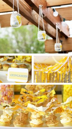 A Summer Birthday Party // Hostess with the Mostess® 40th Birthday Party Themes, Yellow Birthday Parties, Summer Birthday, 40 Birthday, Birthday Cupcakes, Birthday Ideas, Birthday Recipes, Birthday Stuff, Lemon Party
