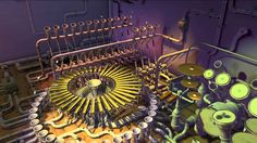 Pipe dream - music and graphics - Animusic