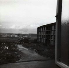 Flats in Telford Road, the Murray under construction late Under Construction, Glasgow, Past, Scotland, Centre, 1950s, Architecture, Board, Beautiful
