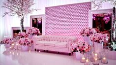 amazing pink and purple wedding by Carousel events in Dubai