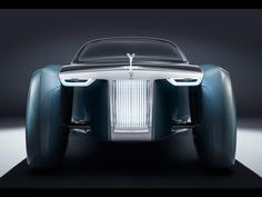 Rolls-Royce looks to the future with fully customizable 3D printed Vision next 100 concept car.  #3dtech #3dinnovation #3dprintedproduct #3dprintingnews