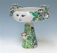 Bjørn Wiinblad - whimsical and beautiful ceramic designs