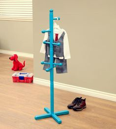 Yamazaki Home Leaning Coat Rack With Shelf | Coat Hanger, Coat Racks And  Spaces