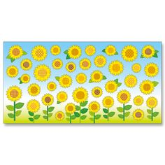 Summer Selection B 75232 Japanese paper Sunflowers Product Details | Mind Wave shopping site