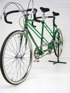 Gitane Tandem | www.eisenherz-bikes.de | Klaus Hogrebe | Flickr Tandem Bicycle, Motorized Bicycle, Classic Road Bike, Classic Bikes, Touring Bicycles, Vintage Cycles, Bike Storage, Cycling Art, Vehicles