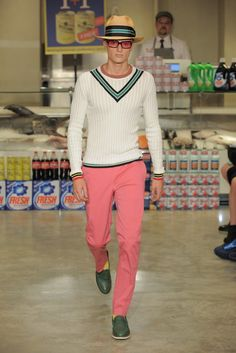 Moschino Men's RTW Spring 2013