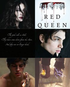 Red Queen Series... Exactly how I envision Mare, Cal & Maven!!