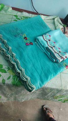 Order on +919815432341 Designer Punjabi Suits Patiala, Punjabi Suits Designer Boutique, Silk Anarkali Suits, Boutique Suits, Salwar Suit Neck Designs, Dress Neck Designs, Saree Blouse Designs, Embroidery Suits Punjabi, Kurti Embroidery Design