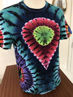 Hey, I found this really awesome Etsy listing at https://www.etsy.com/listing/519380486/you-are-here-tie-dye-tee-shirt-size
