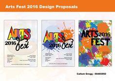 Arts fest 2016 live project.