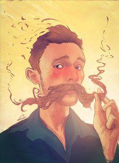 Respeita o bigode do moço!