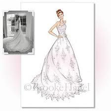 Brooke hagel illustrations fashion drawing bridal illustrations