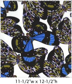 Blue+Large+Butterflies,+Enchanted+Rainforest+by+Maywood+Studios+at+Creative+Quilt+Kits  Use Code- PINTEREST10 to receive 10% off your order at check out!!