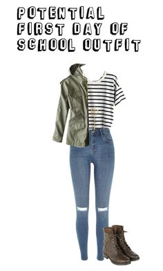 """""""Possible First Day Of School Outfit"""" by a-j-west on Polyvore"""